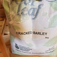 Four leaf cracked barley