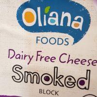 Oliana dairy free smoked block