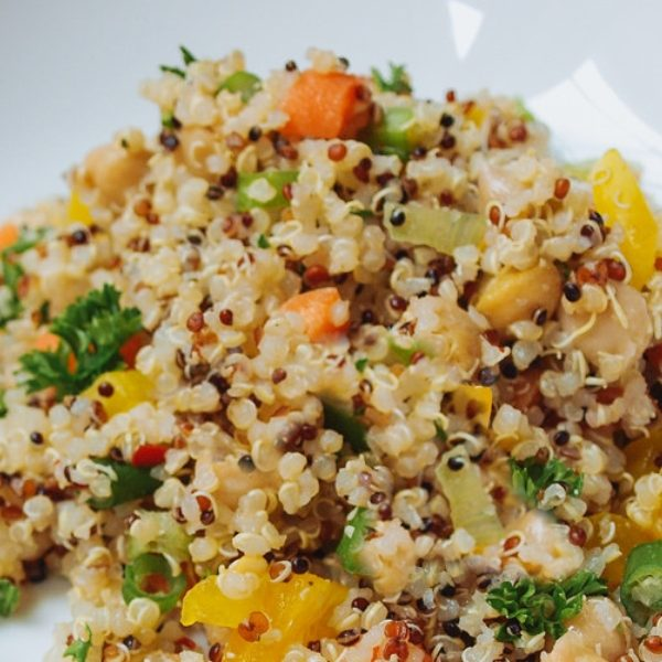 Chickpea and Quiona salad