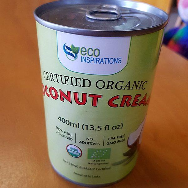 Eco Inspirations Organic Coconut Cream
