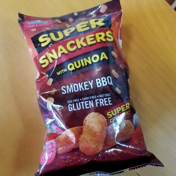 Super Snackers with Quinoa Smokey BBQ