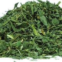 Alfa tea leaves