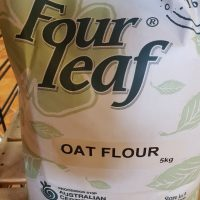 Four leaf oat flour