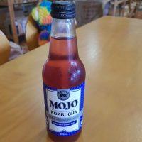 Mojo organic kombucha blueberry and ginger bliss
