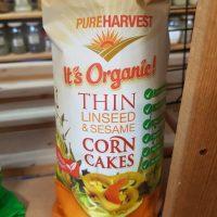Pure Harvest Organic Corn Cakes