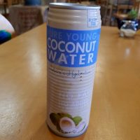 Pure young coconut water