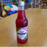 Riviera pomegranate blueberry sparkling flavoured fruit drink