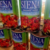 Seinna organic diced tomatoes